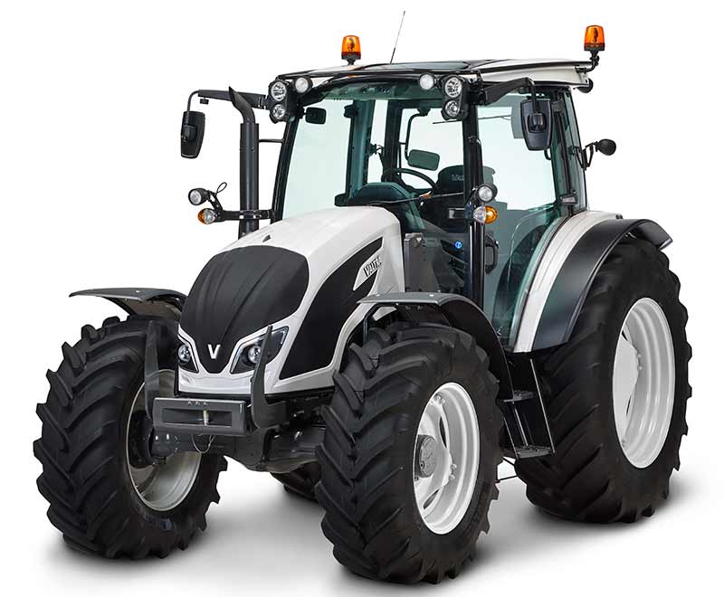 Valtra A Series tractor on a field in Italy
